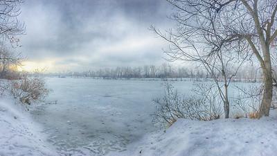 Heidi Egerman 2 Boise River in Winter AS