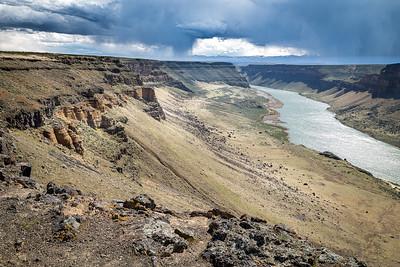 110 Rick Ohnsman 2 Snake River Canyon Spring