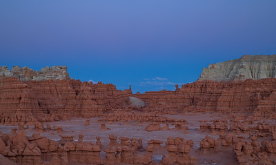 117 Greg Stringham 2 Dusk in Goblin Valley