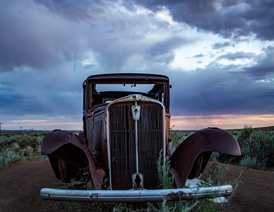 008 Patty Sharp 1  End of the Road at Painted Desert Arizona AS