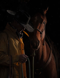 128 jeff Armstrong 2 Cowboy & Friend