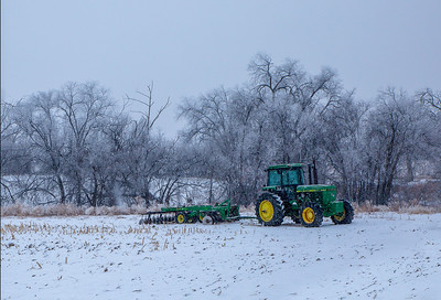 013 Mary Martindale 1 Tractor in the snow AS
