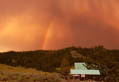 003 Mary Martindale 2 Cascade storm and rainbow AS