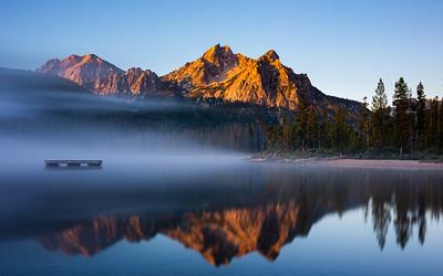 Jared Weaver 1  Stanley Lake Sunrise jpg