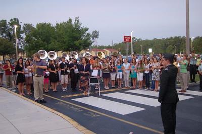 20080911 BCH BAND CHORUS ROTC - Remembrance