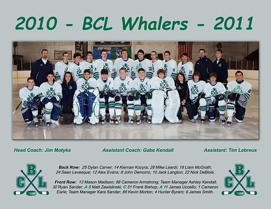 BCL 2010 - 2011 Team picture