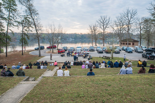2017 Sunrise Service at Sunset Lake