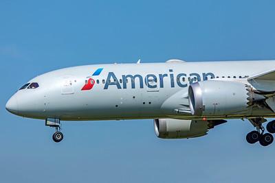 American Airlines Boeing 787-8 Dreamliner N802AN 9-29-18 2