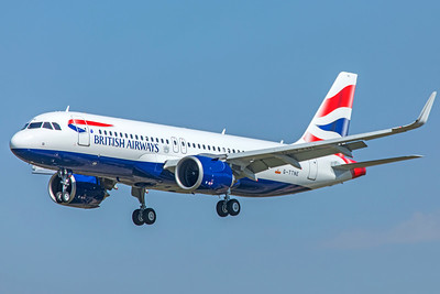 British Airways Airbus A320-251N G-TTNE 9-29-18
