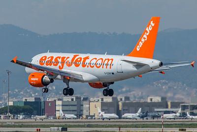 easyJet Airbus A319-111 G-EZAF 9-29-18