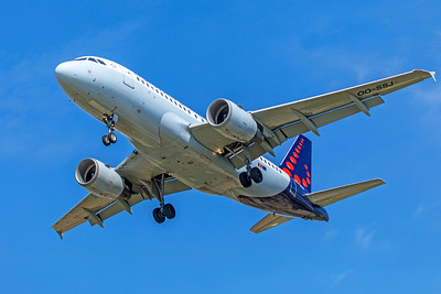 Brussels Airlines Airbus A319-111 OO-SSJ 9-29-18