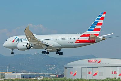 American Airlines Boeing 787-8 Dreamliner N802AN 9-29-18