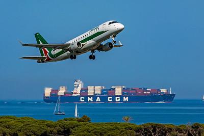 Alitalia Cityliner Embraer ERJ-170-200 EI-RDH 6-12-21