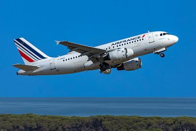 Air France Airbus A319-111 F-GRHS 6-12-21