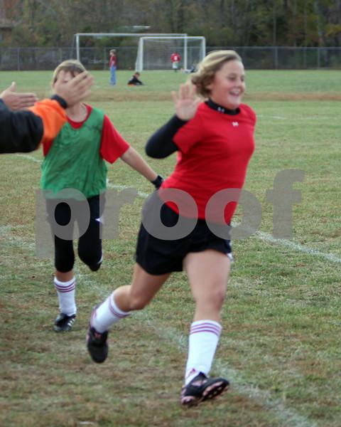 U11 Girls tournament finals Amelia vs Williamsburg '08