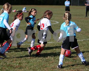 U7 girls tournament finals NR vs Amelia '08