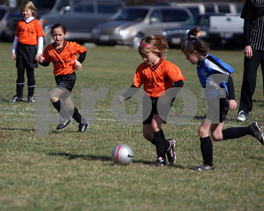 U8 Girls tournament finals Batavia(orange crush) vs CNE '08