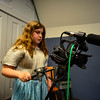 KRISTOPHER RADDER - BRATTLEBORO REFORMER<br /> Nina North captures the action during the BCTV Video Camp on Wednesday, June 28, 2017.