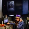 KRISTOPHER RADDER - BRATTLEBORO REFORMER<br />  Ghost Hunter Allison Corey monitors paranormal sensors  during the BCTV Video Camp on Wednesday, June 28, 2017.