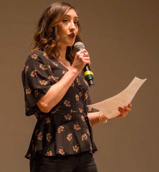 "Professor Jessica Martinez moderates the screening and panel for ""Adios Amor"""