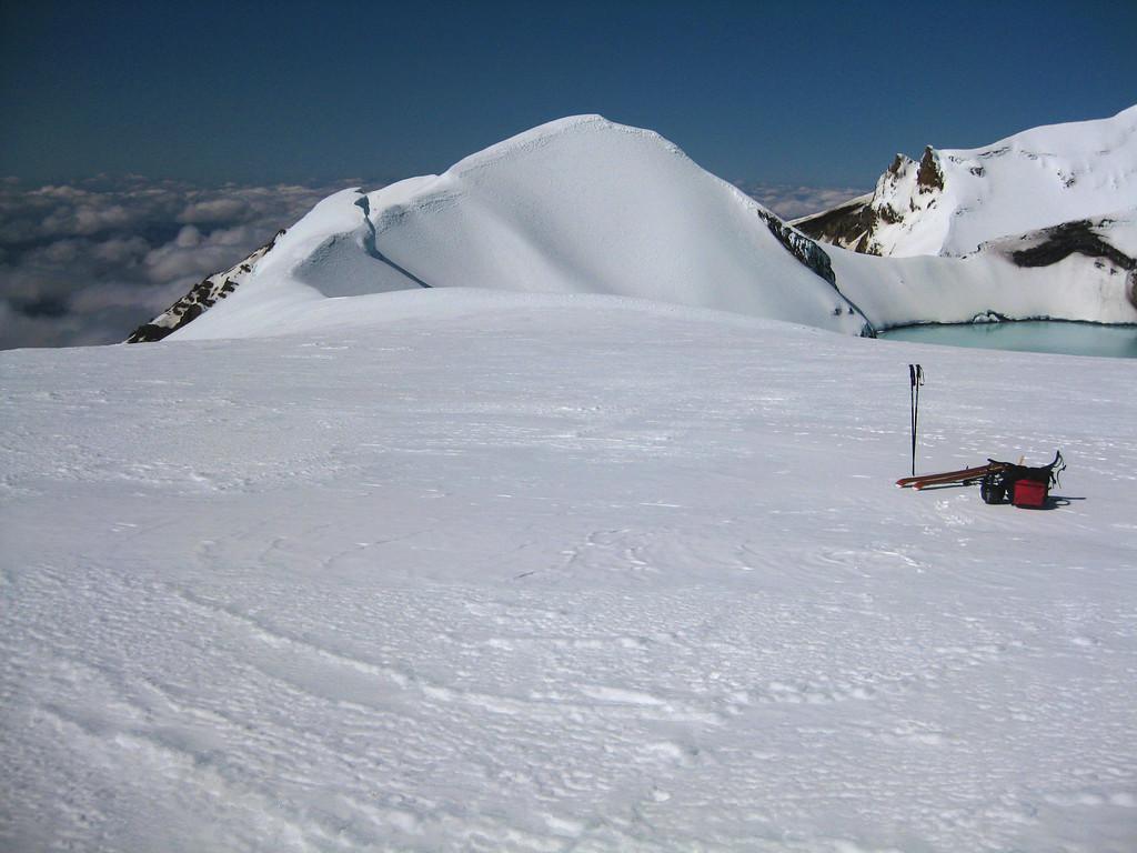 Pyramid Peak and Crater Lake, Mt Ruapehu