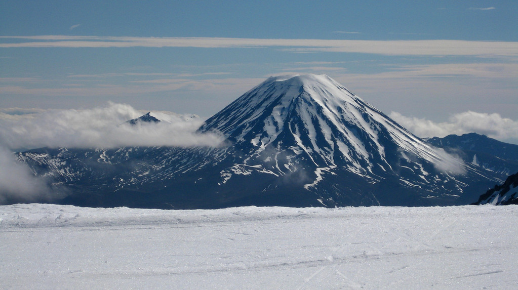 Not much cover on Ngauruhoe