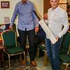 Ben Salter receives Yorkshire signed cricket bat!