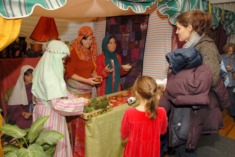 """Christmas in Bethlehem"" scene in Camden"