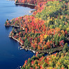 RIOTS OF AUTUMN   Fall bursts with riotous colors along the north shore of Fifth Machias Lake recently. (BANGOR DAILY NEWS PHOTO BY BOB DELONG)