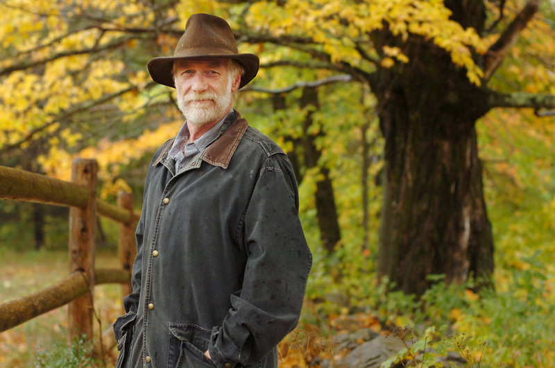"CAPTION<br /> Folksinger David Mallet's most recent album ""The Fable True"" incorporates Mallett's voice reading from Henry David Thoreau's ""The Maine Woods"" with original acoustic instrumental music.   BANGOR DAILY NEWS PHOTO BY BRIDGET BROWN  (WEB EDITION PHOTO)"