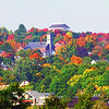 THE JEWEL OF BANGOR   The crown of the standpipe rises above the colors of fall. (NEWS Photo by Bob DeLong)