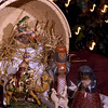 People of many Christian faiths loan their Nativity scenes for the annual Bangor creche exhibit, set for Dec. 5-7 at the Church of Jesus Christ of Latter-day Saints, Grandview Avenue and Essex Street. The pieces shown are from a few of the 320 creches from 35 countries. (John Clarke Russ/The Weekly)