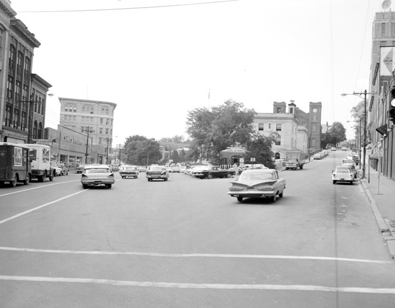 City of Bangor tourist information center in post office square. BANGOR DAILY NEWS FILE PHOTO 7/23/63