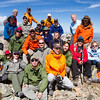 Soldiers to the Summit team on the summit of James Peak in Colorado.