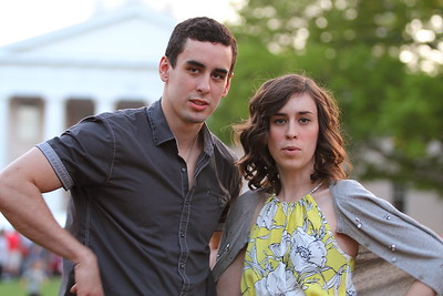 Hannah Selector & Evan Model Pose