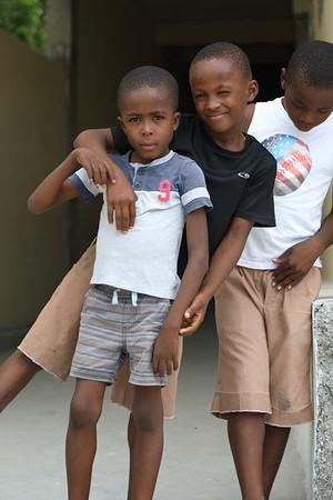 Students, Cazeau Haiti