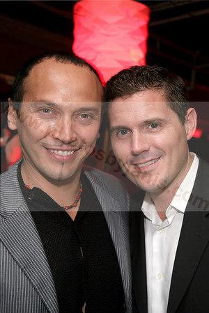 Alekxey Sabido and Eddie Miller