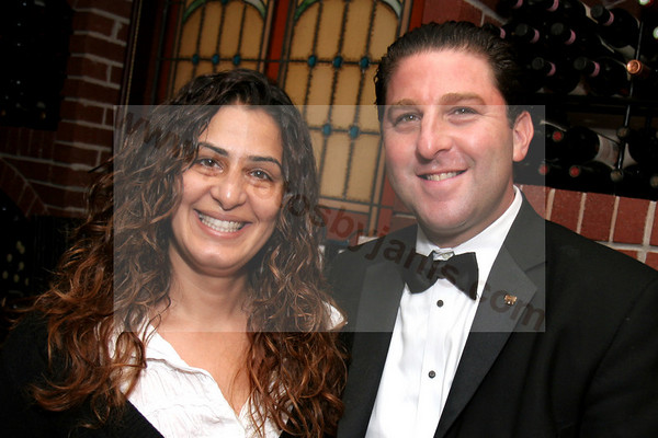 01 Sandi Jabr and Michael Savitt (General Manager) Shot at the Boca Morton's Steakhouse