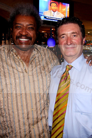 00 Don King and Angelo Morinelli at Cucina D'Angelo