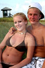 Alexzia Skeesick and Ryan Monaghan  on Boynton Beach