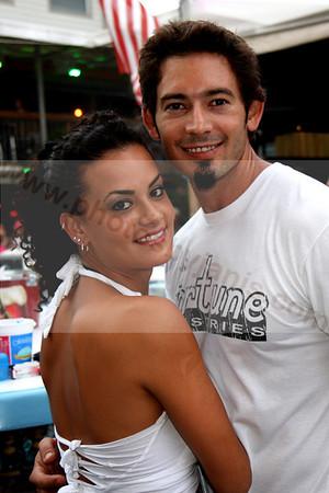 Julia Ripa and Alvaro Figares at the BANANA BOAT
