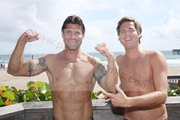 38 Scott Leonard and Tristan Miles on Lake Worth Beach