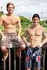 36 Scott LeonardTristan Miles and Scott Leonard on Lake Worth Beach