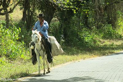 Yeah we could have gone on horseback!