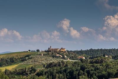 Near San Gimignano.