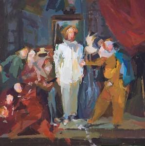 Paula Swadan Grebel after Watteau