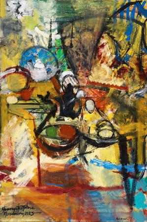 Grace Hartigan after Matisse after de Heem