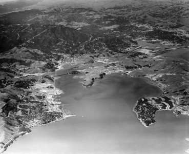 1952 Richardson Bay Looking West Aerial View…