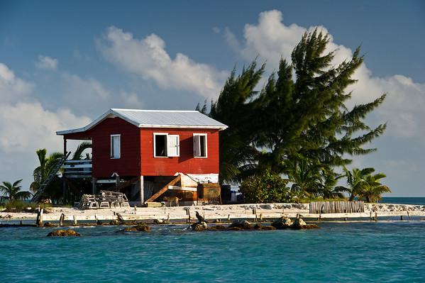 Fly fishing Belize River Lodge Long Caye Outpost Lodge - Long Caye, Belize - Klug Photos 2012