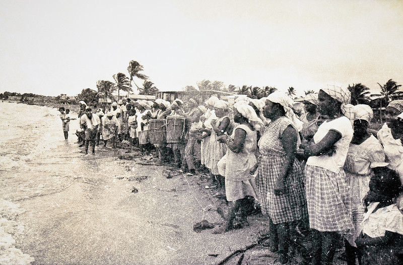 Dugu Ceremony<br /> Photo:  Norris Hall, circa 1970<br /> <br /> Gulisi Garifuna Museum<br /> Dangriga